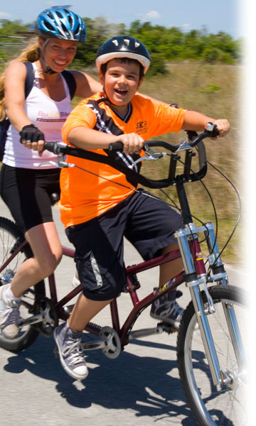 Buddy Bike - Bike for special needs, autism, down syndrome, blind, sight impaired and other disabilities